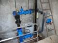 Chloration automatique de l'eau réservoir ...