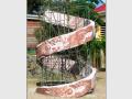 Sculpture évolution en marbre de caunes