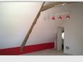 Rénovation d'une pièce située dans les combles