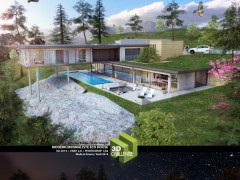 Animation Minimaliste Eco House