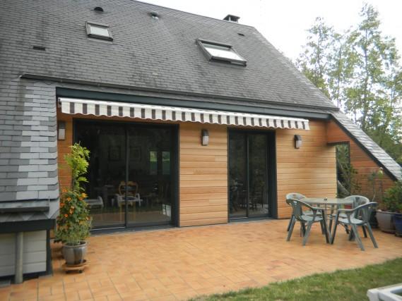 Rénovation d\'une maison bois de 1970 avec bardage et isolation ...