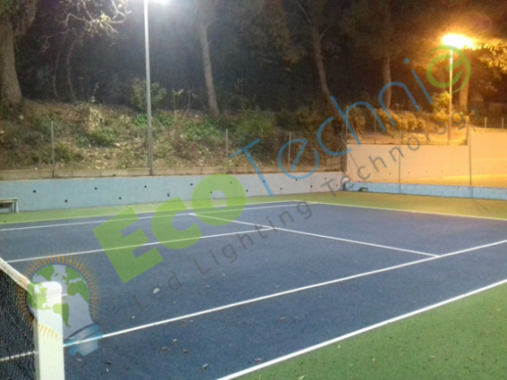 Eclairage LED Tennis